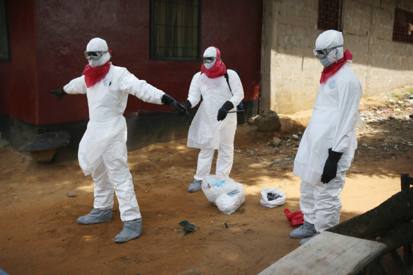 The Ebola virus has killed thousands of people in west Africa since March's outbreak ©John Moore/Getty Images