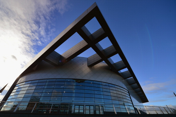 The Emirates Arena will host the 2014 Glasgow World Cup Gymnastics ©Getty Images
