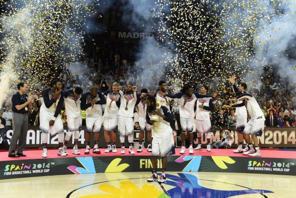 The FIBA World Cup, won by the United States last month, has been hailed as a huge success ©AFP/Getty Images