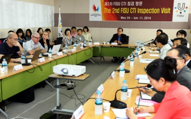 The Gwangju 2015 Organising Committee will host a three-day meeting of the FISU Executive Committee ©Gwangju 2015