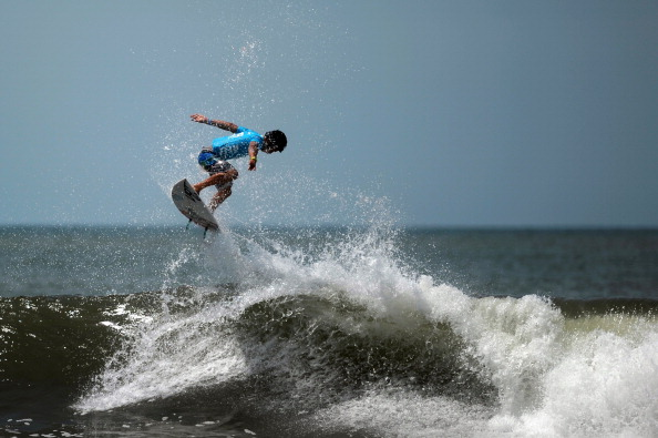 The ISA 50th Anniversary World Surfing Games are being held in Punta Roca, Peru ©Getty Images