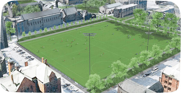 The Pan Am/Parapan Am Fields will play host to football 7-a-side, football 5-a-side and hockey during Toronto 2015 ©Toronto 2015