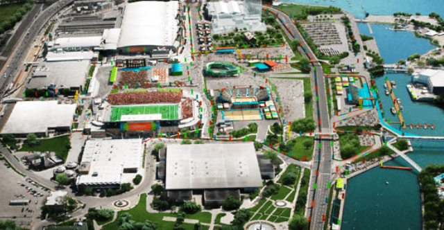 The Pan Am Park will be the centrepiece of the Toronto 2015 Pan American Games ©Toronto 2015