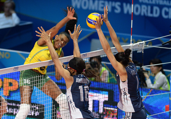 The US gained revenge for two Olympic final defeats by beating Brazil ©Getty Images