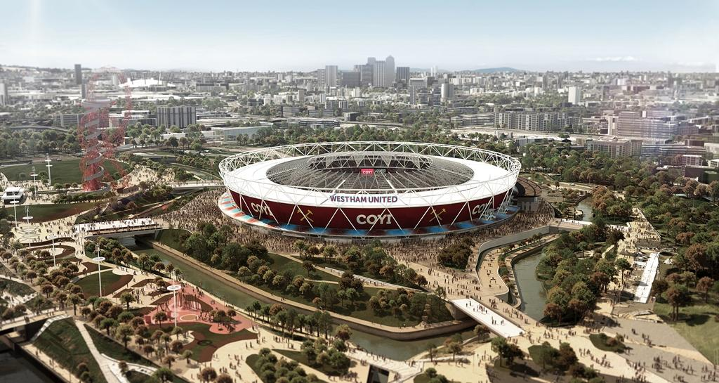 The cost of converting the Olympic Stadium now stands at £189.9 million ($304.3 million/€240.6 million) ©West Ham