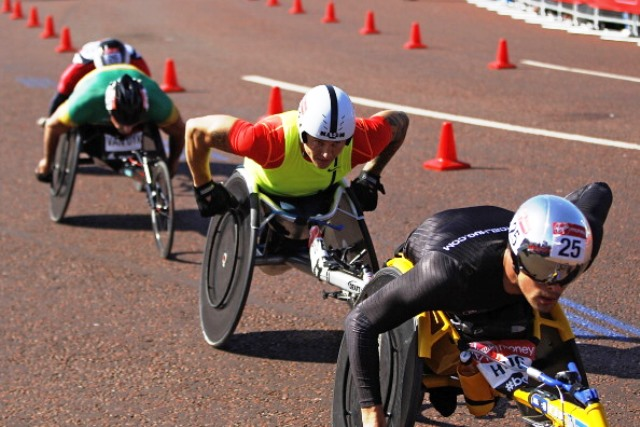 The marathon events of next year's IPC Athletics World Championships will be held in London ©Getty Images
