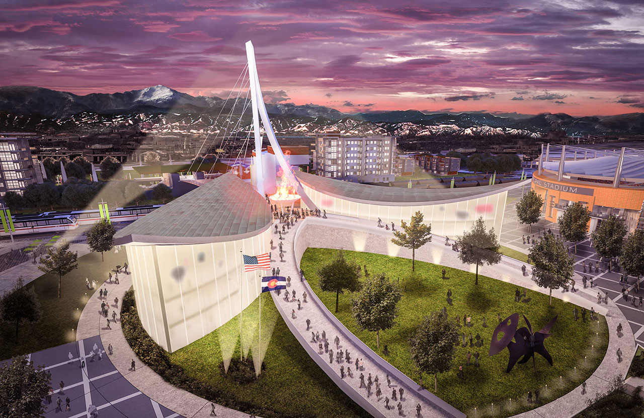 The team set to design and constuct the United States Olympic Musem and Hall of Fame has been announced ©UnitetdStatesOlympicMusem