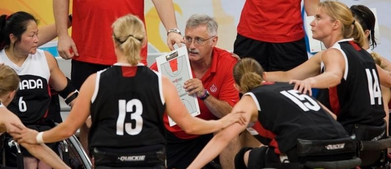Tim Frick has become the first ever coach to be indicted into Canada's Sports Hall of Fame ©Wheelchair Basketball Canada/Bogetti-Smith Photography