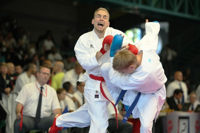 Twelve Grand Winners were crowned in Salzburg as the Premier League series concluded ©WKF