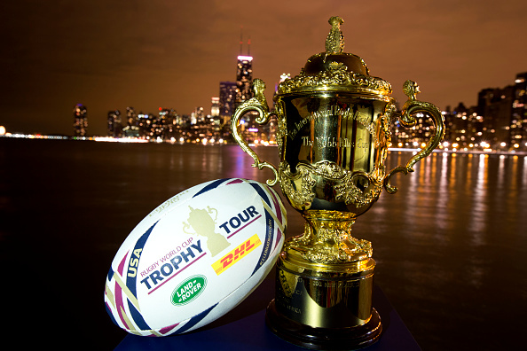 Universal Sports Network and NBC Sports Group will broadcast coverage from nine matches at next year's Rugby World Cup in England ©Getty Images