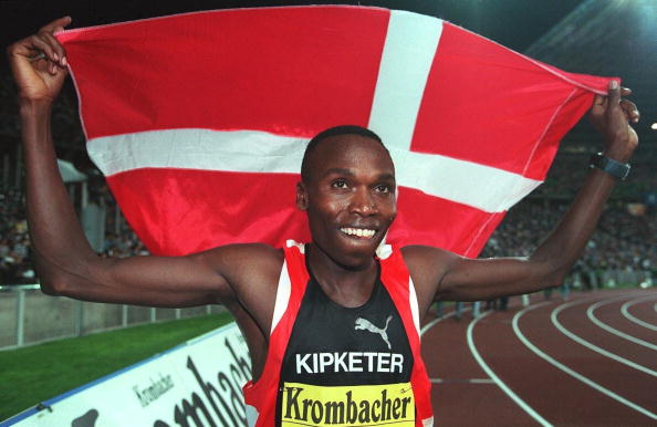 Wilson Kipketer switched nationality from Kenya to Denmark but changed for different reasons than many allegedly do today ©Bongarts/Getty Images