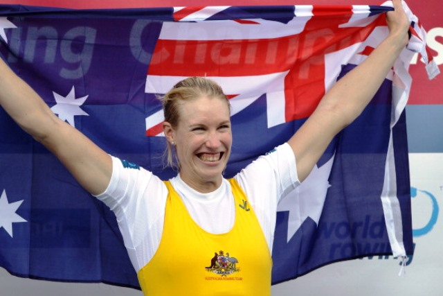 World champion rower Kim Crow says clean athletes are suffering due to the actions of drug cheats ©Getty Images