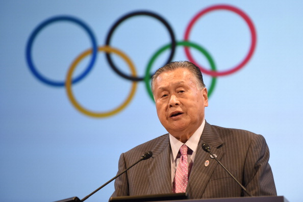 Yoshiro Mori, chairman of the Tokyo 2020 Olympic Organising Committee, is worried about the delays in the demolition of the old National Olympic Stadium ©Getty Images