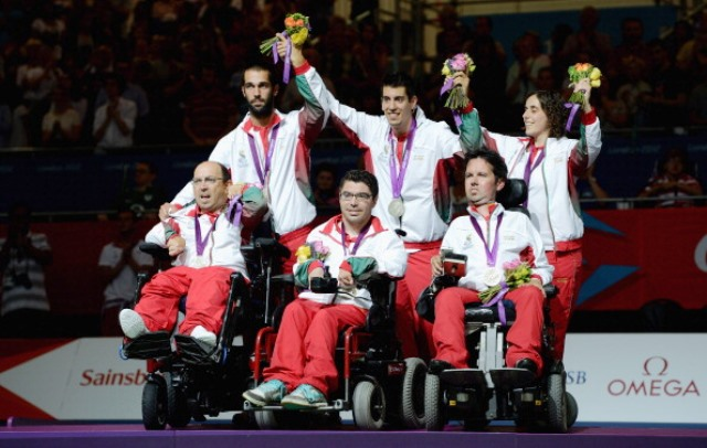 Portugal's boccia team won silver at London 2012 ©Getty Images