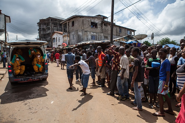 The deadly Ebola virus has killed an estimated 1,200 people in Sierra Leone in the last few months ©Getty Images