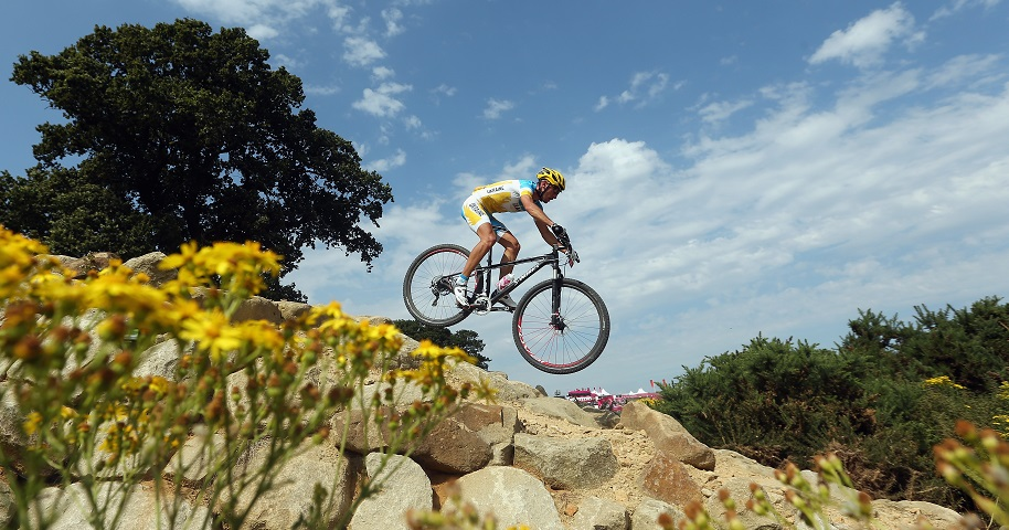 Ukraine's Sergji Rysenko who will compete be among the riders competing in the European Games mountain bike test event in Baku ©Baku 2015