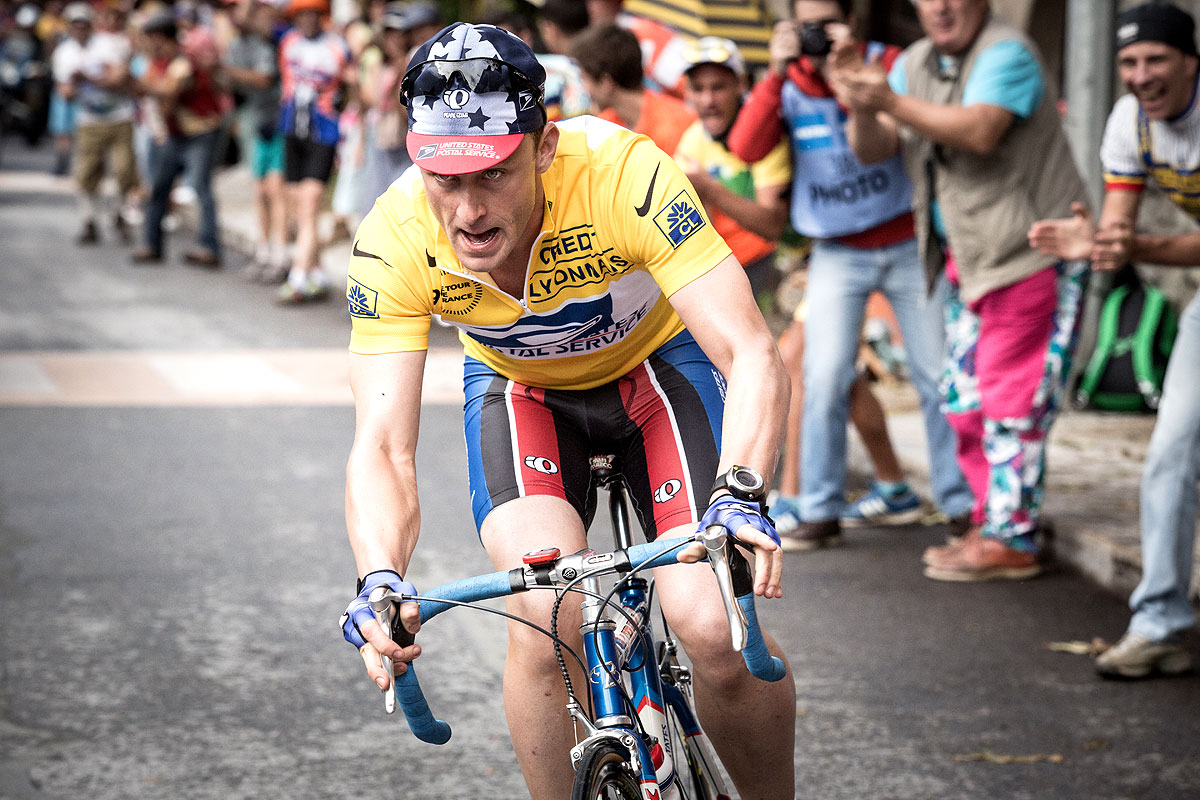 Actor Ben Foster will star as Lance Armstrong in Stephen Frears' upcoming biopic ©StudioCanal