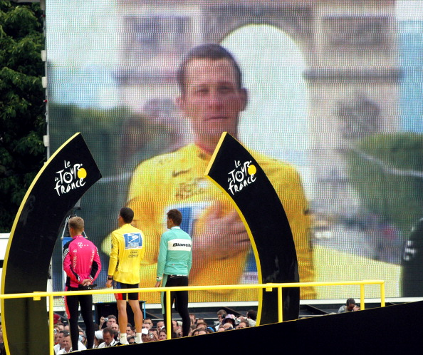 """Lance Armstrong's fall has been so spectacular that film director Stephen Frears admits that """"you can't imagine what goes on inside his head"""" ©Getty Images"""