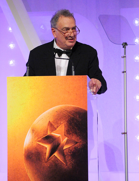Film director Stephen Frears, whose latest project is a film on Lance Armstrong, received the Fellowship award at the BFI London Film Festival Awards earlier this month ©Getty Images