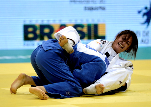 Yarden Gerbi made history when she became Israel's first-ever judo world champion in Rio de Janeiro last year ©Getty Images