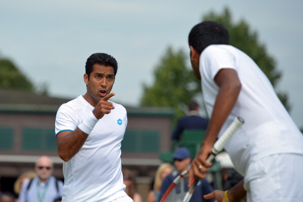 Aisam-Ul-Haq Qureshi has aided four countries through his foundation, Stop War Start Tennis, this year ©Getty Images