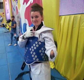 Amy Truesdale will be aiming for success at the upcoming European Para-Taekwondo Championships ©British Taekwondo
