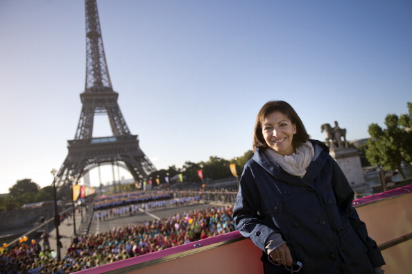 Paris Mayor Anne Hidalgo has warned she will not sanction a bid for the 2024 Olympics and Paralympics just because French President Francois Hollande has backed the campaign ©Getty Images