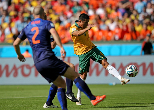 Australia competed at this year's FIFA World Cup in Brazil but lost all three group matches ©Getty Images
