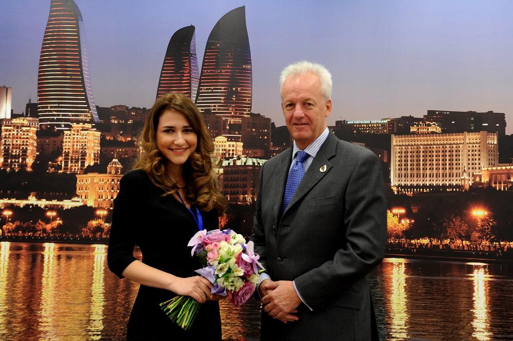 Aysel Akhundova has become the 1000th staff member employed by Baku 2015 ©Baku 2015