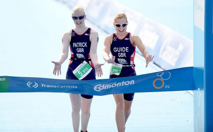 British Triathlon is on the search for females athletes to guide visually impaired triathletes to success at Rio 2016 ©Delly Carr/ITU
