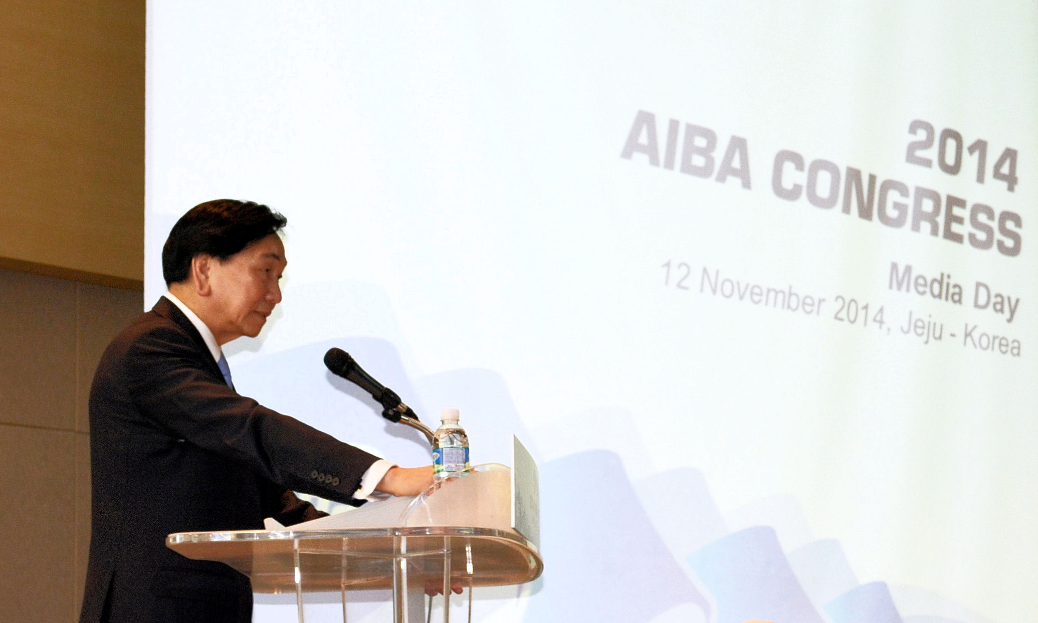 C K Wu is set to be re-elected as AIBA President at the Congress in Jeju ©Valerie von Eberhardt