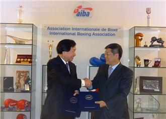 AIBA President C K Wu has secured an CHF35 million investment deal to support the new APB ©AIBA