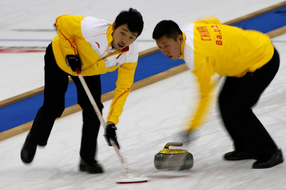 China's men claimed the gold medal of the Pacific-Asia Curling Championships in Japan ©WCF/Richard Gray 2014