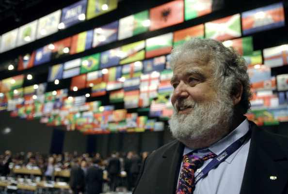 Chuck Blazer was banned by FIFA from taking part in any kind of football-related activity at national and international level in May 2013 ©Getty Images