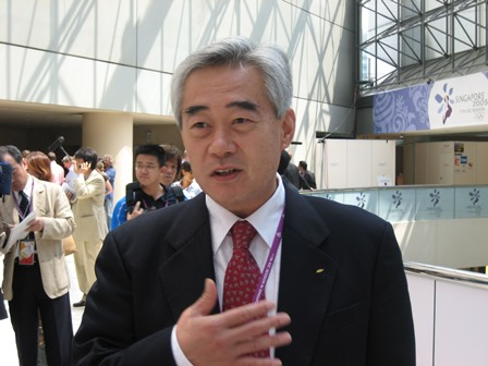Chungwon Choue, WTF President, has high hopes for Para-taekwondo ©WTF