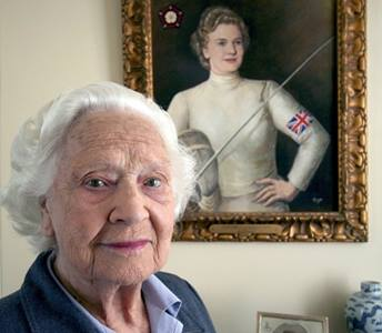 Dame Mary Glen-Haig has passed away at the age of 96 ©Facebook