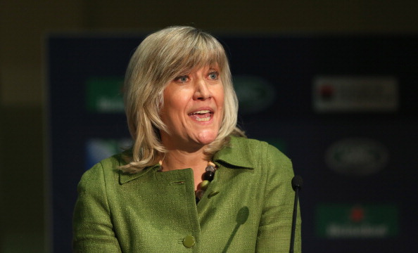 Debbie Jevans, England Rugby 2015 chief executive, says the Rugby World Cup is shaping up to be a fantastic tournament ©Getty Images