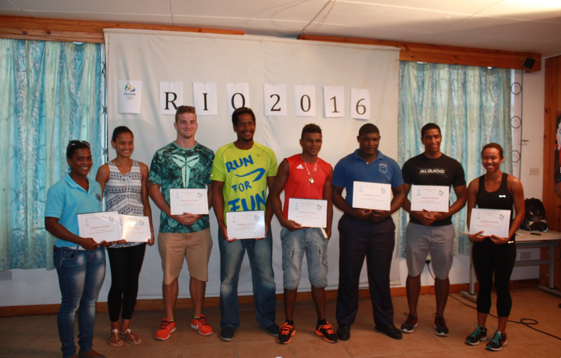 Eight athletes from the Seychelles have been awarded Olympic Solidarity scholarships ©SOCGA