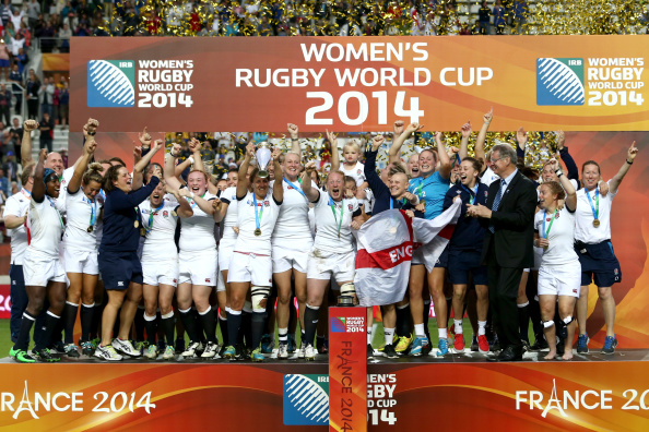 England will arrive at the 2017 Women's Rugby World Cup as reigning champions ©Getty Images