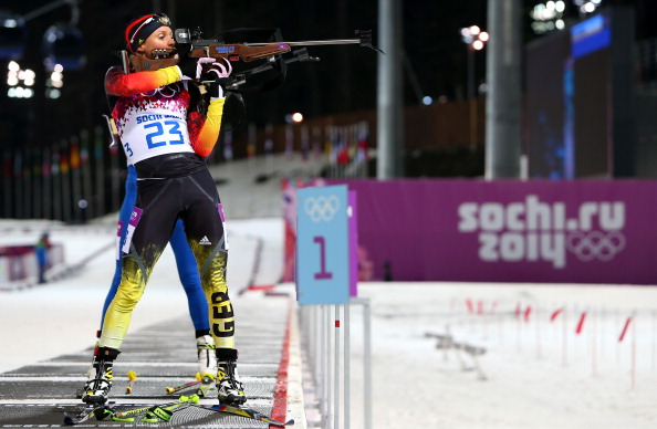 Evi Sachenbacher-Stehle tested positive for methylhexanamine at the Sochi 2014 Winter Olympic Games ©Getty Images