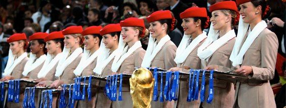 FIFA has confirmed that Emirates is endings its sponsorship at the end of this year ©Emirates