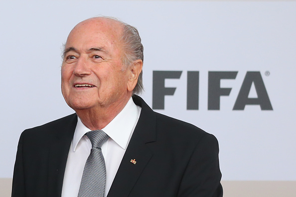 FIFA President Sepp Blatter has acted on the advice of German judge Hans-Joachim Eckert ©Getty Images