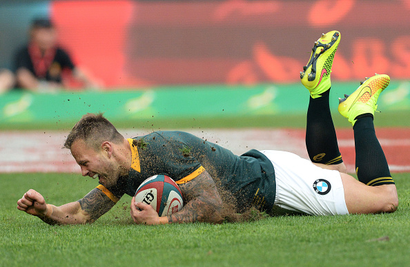 Francois Hougaard's try against New Zealand in South Africa's Rugby Championship win is among the contenders ©Getty Images