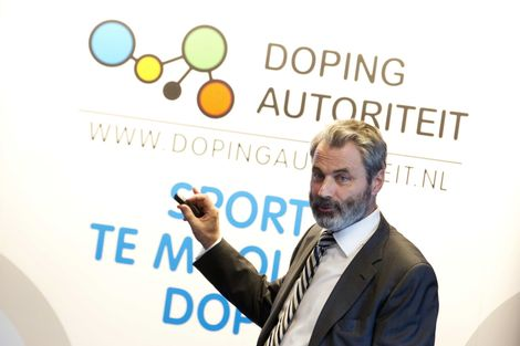 Herman Ram, director of The Netherlands' National Lottery-funded Autoriteit, fears his anti-doping work will be compromised in the future due to budgetary restraints ©Getty Images