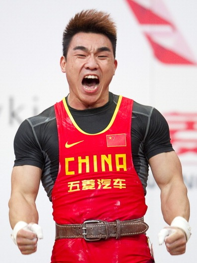Hui Liao finished with a world record total of 359kg on day three of the IWF World Championships ©Getty Images
