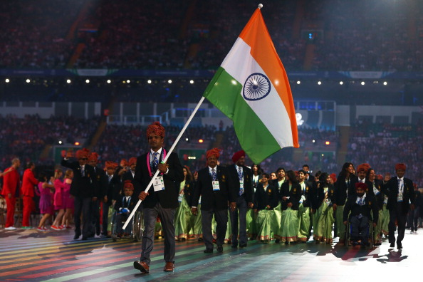 India, pictured at the Opening Ceremony of Glasgow 2014, are taking a new approach to improve their sporting and administrative fortunes following their return to the Olympic fold ©Getty Images
