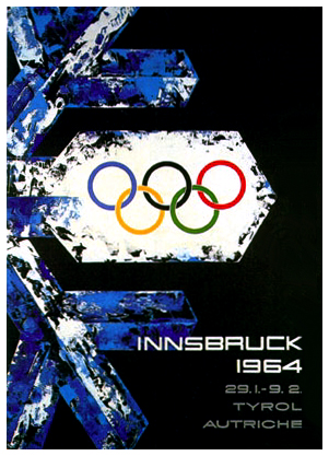 The confusion surrounding Vivian and Ronald Joseph's bronze medal stemmed from the 1964 Winter Olympic Games in Innsbruck ©Olympic Museum