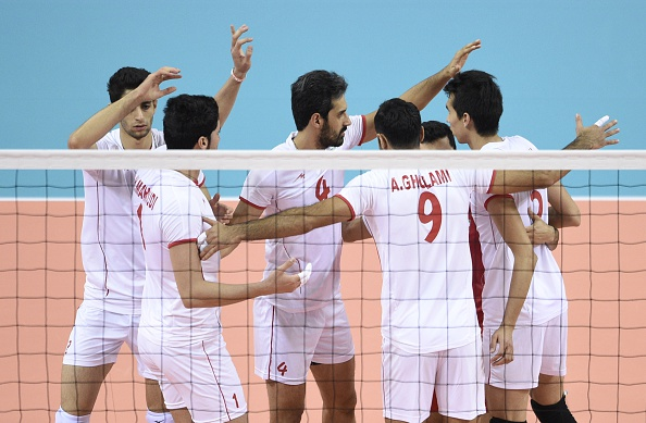 Iran's men finished sixth at September's FIVB World Championships in Poland before winning gold at the Incheon 2014 Asian Games. But this comes as criticsm of their ban of women attending matches has grown ©AFP/Getty Images