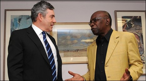 The close links between FIFA vice-president Jack Warner and England 2018, which included him meeting then British Prime Minister Gordon Brown, are expected to be criticised in a report published by FIFA today ©England 2018