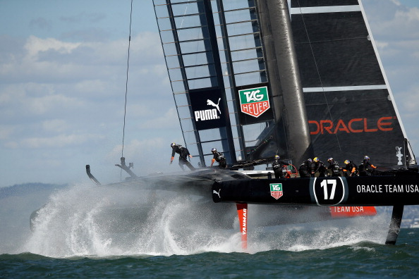 James Spithill skippered Team Oracle USA to America's Cup success over Emirates Team New Zealand ©Getty Images